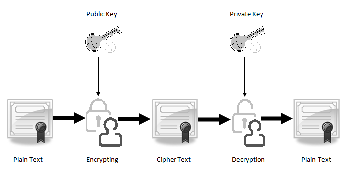 Public and Private Key - SSL Encryption