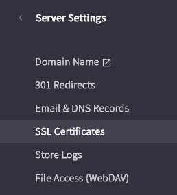 Generate CSR - Click on SSL Certificates