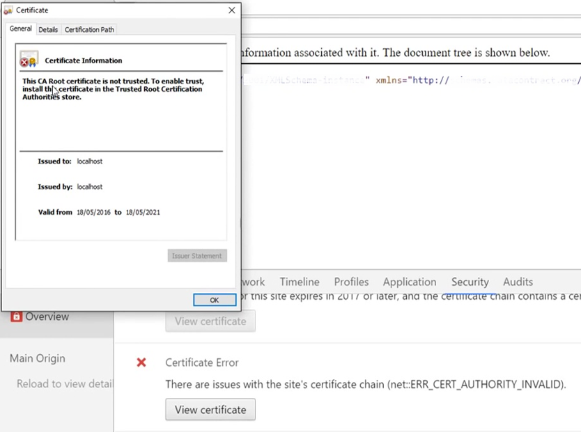 How to Enable SSL in Visual Studio for a  NET Project